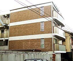 京都府京都市左京区田中西大久保町の賃貸マンションの外観