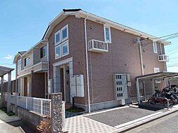 東京都武蔵村山市残堀5丁目の賃貸アパートの外観