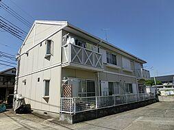 埼玉県新座市西堀1丁目の賃貸アパートの外観