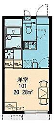 シーガル羽田[1階]の間取り