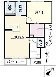 Blanche−J[1階]の間取り