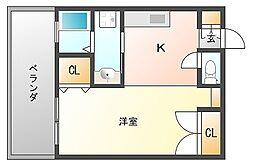 チコハウス[13階]の間取り