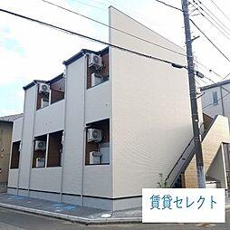 千葉県松戸市常盤平2丁目の賃貸アパートの外観
