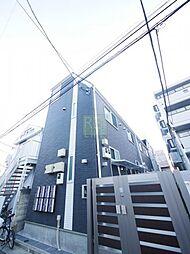 東京都世田谷区宮坂1丁目の賃貸アパートの外観