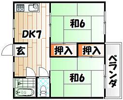 MOON大谷[2階]の間取り