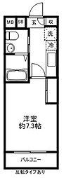 アーバンコート仙川[203号室]の間取り
