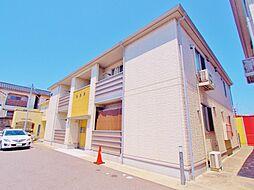 広島県広島市南区青崎1丁目の賃貸アパートの外観