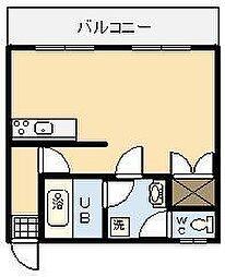 コーポ21清武[306号室]の間取り