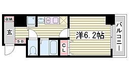 スワンズ神戸三宮イースト[10階]の間取り