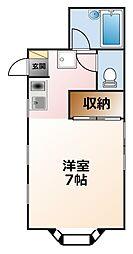 ラメゾンクレア[2階]の間取り