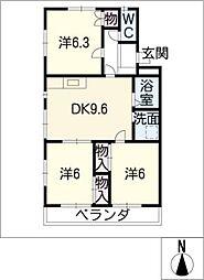 オルボス[1階]の間取り
