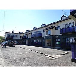 新潟県新潟市江南区城所2の賃貸アパートの外観