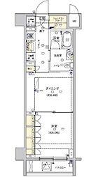 東京都江東区佐賀2丁目の賃貸マンションの間取り