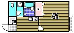 サンホーム富田林[2階]の間取り