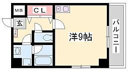 シンプルライフ新開地[5階]の間取り