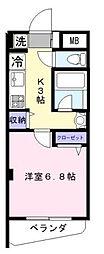 東京都世田谷区経堂2丁目の賃貸マンションの間取り