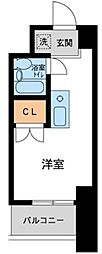 コスモヒロ南台[0402号室]の間取り