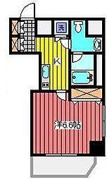 埼玉県川口市本町1丁目の賃貸マンションの間取り
