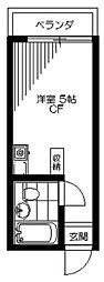 TOP中野第2[2階]の間取り