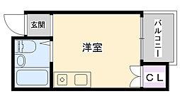 コンフォート今津[309号室]の間取り