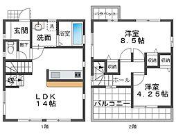 朝霧駅 2,880万円
