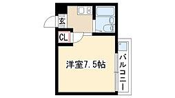 愛知県名古屋市天白区道明町の賃貸マンションの間取り