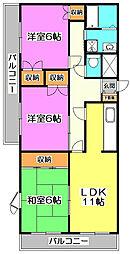IL MESSAGGIO 〜イル メッサジオ〜[4階]の間取り