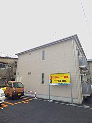 埼玉県蕨市北町1丁目の賃貸アパートの外観