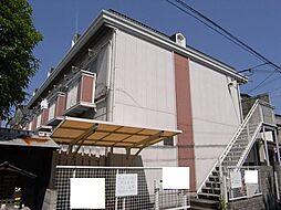 京都府京都市上京区桜木町の賃貸アパートの外観