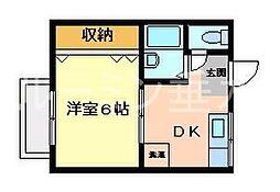 ビュー舞子坂[2階]の間取り
