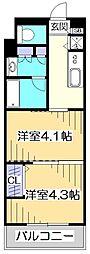 ガーラ・ヒルズ調布[4階]の間取り