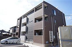 兵庫県姫路市飾磨区英賀宮町2丁目の賃貸アパートの外観