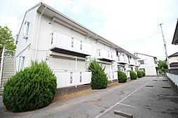 千葉県柏市新柏2の賃貸アパートの外観