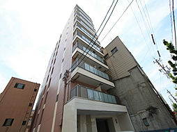 コート新栄の外観 オートロック付 全部屋角部屋