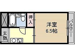 ハイツカメリア[2階]の間取り