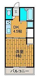 カターラ・S[1階]の間取り
