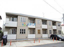 神奈川県横浜市鶴見区駒岡4丁目の賃貸アパートの外観