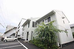 岡山県岡山市北区青江4丁目の賃貸アパートの外観