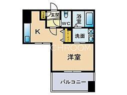 浄水プレイス[3階]の間取り