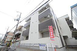 兵庫県西宮市津門大箇町の賃貸アパートの外観