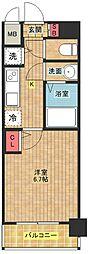 クリスタルグランツ大阪BAY[3階]の間取り
