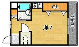 アンフィニィ橋の内I[2階]の間取り