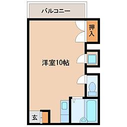 兵庫県尼崎市道意町3丁目の賃貸マンションの間取り