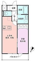 SAKASU KICHIJOJI[101号室]の間取り
