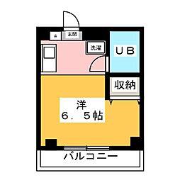 マンション・チエ[3階]の間取り