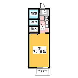 三祥庵[2階]の間取り