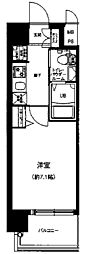 Osaka Metro谷町線 天神橋筋六丁目駅 徒歩11分の賃貸マンション 9階1Kの間取り