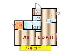 千葉県船橋市習志野台8丁目の賃貸マンションの間取り