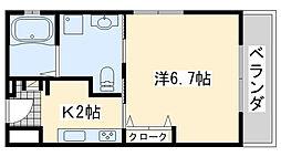 Re-Life阪南 リーライフ阪南[205号室]の間取り