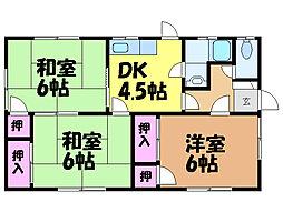 [一戸建] 愛媛県松山市東石井2丁目 の賃貸【/】の間取り